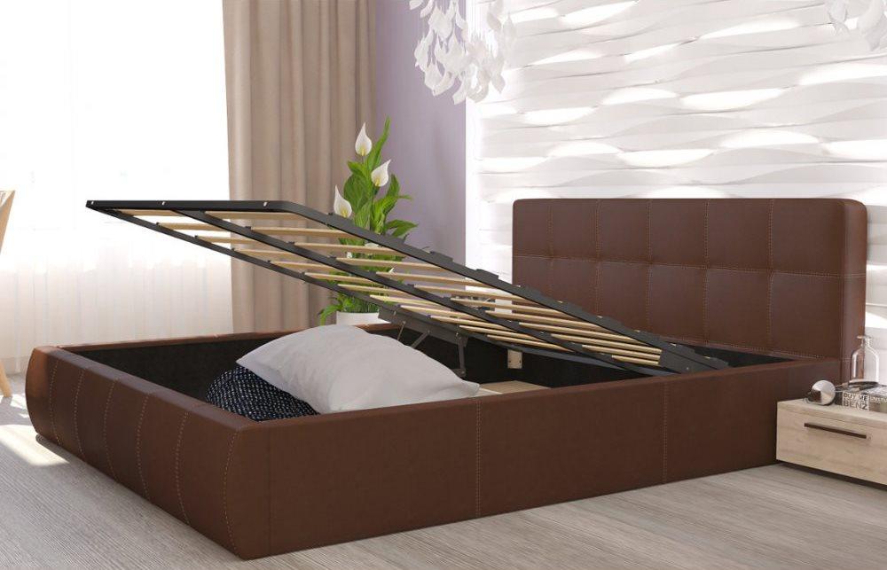 кровать с ортопедическим основанием идеи фото