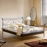 размер кровати железной