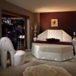 размер кровати фигурная