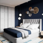 кровать размеры в комнате