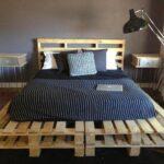 кровать размеры из палет