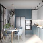 кухонные шкафы до потолка сос толом