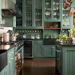 широкие проходы на кухне