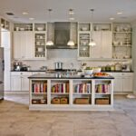 кухонные шкафы до потолкаоткрытые