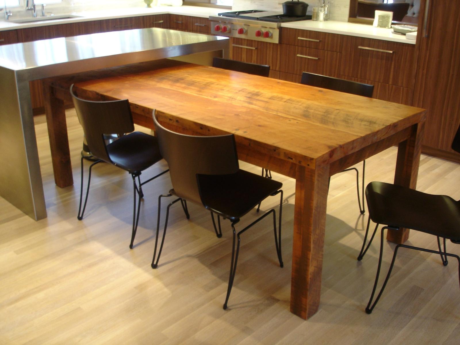 кухонный стол своими руками варианты