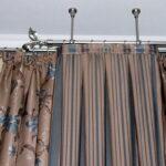металлические карнизы для штор декор фото