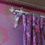металлические карнизы для штор интерьер
