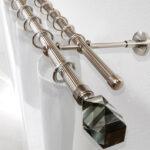 металлические карнизы для штор идеи оформление