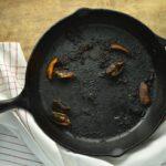 нагар на сковороде чистка
