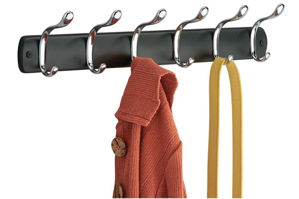 настенная вешалка с крючками