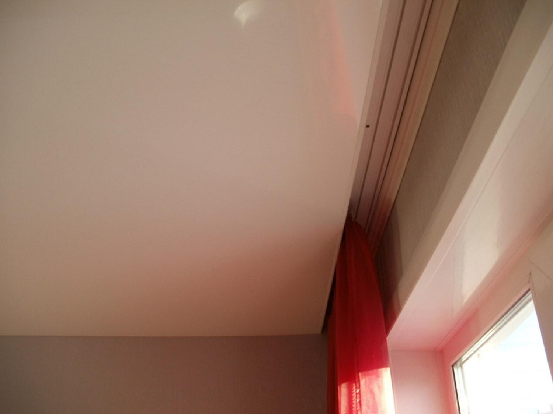 ниша под шторы в натяжном потолке