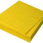 желтые салфетки