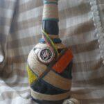 бутылка из шпагата