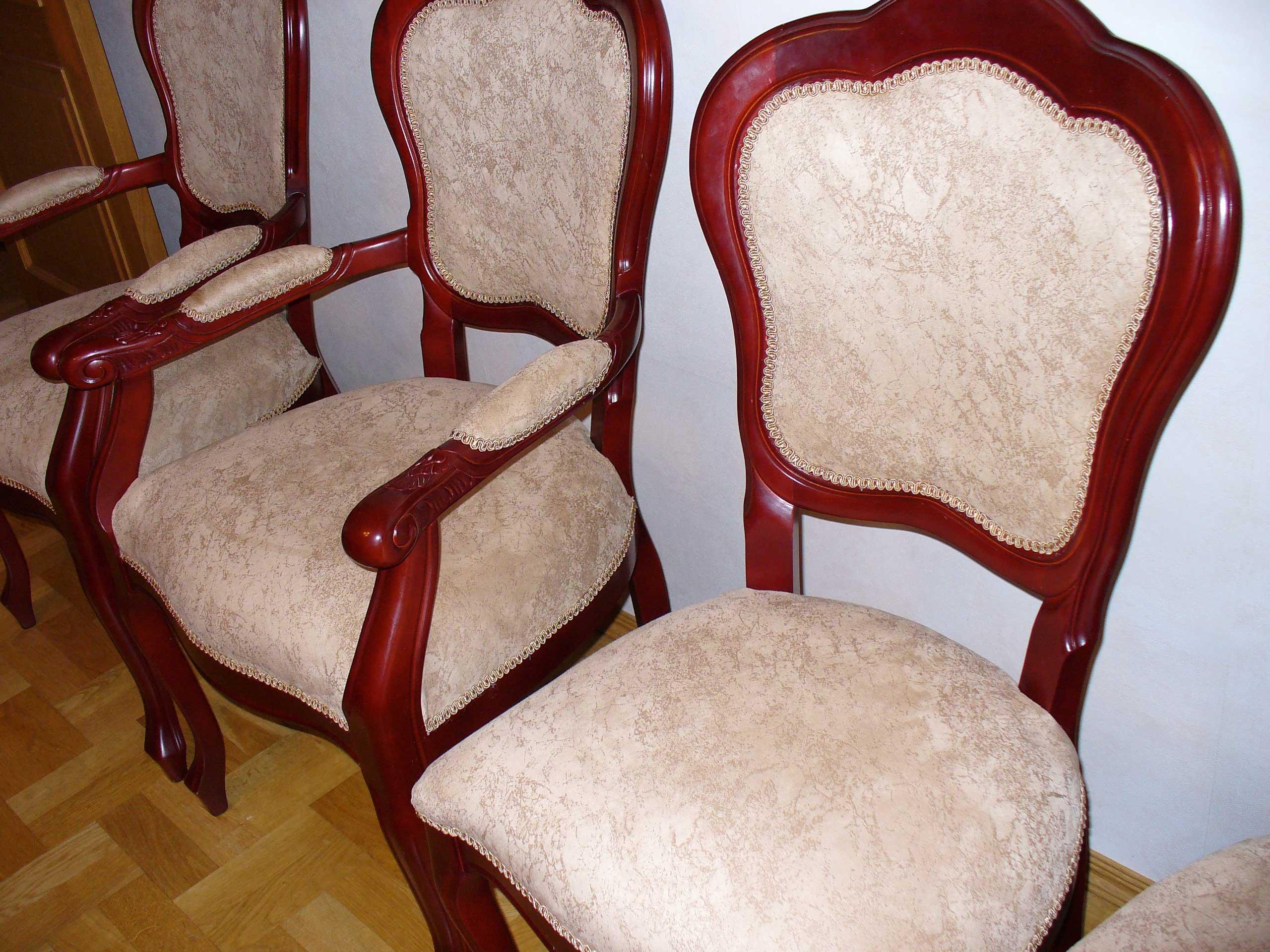 перетяжка стульев дизайн