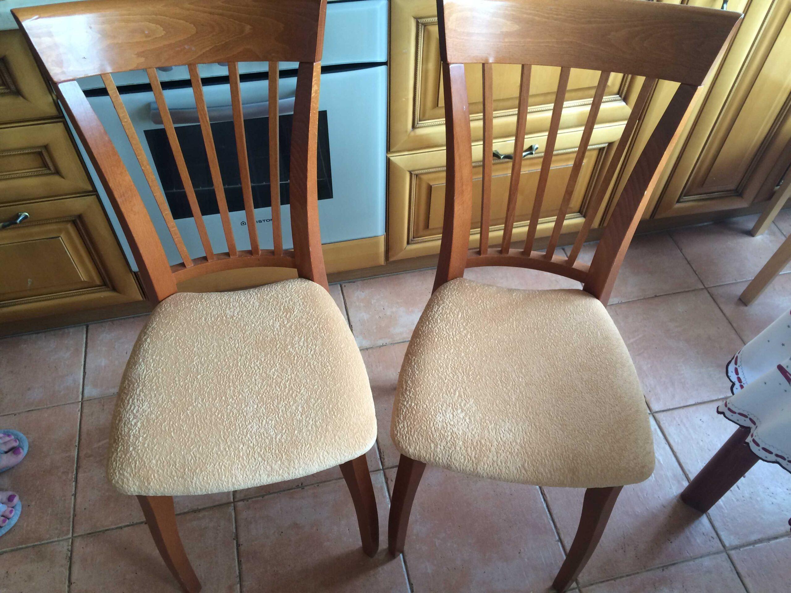перетяжка стульев идеи фото