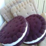 подушки в форме круга