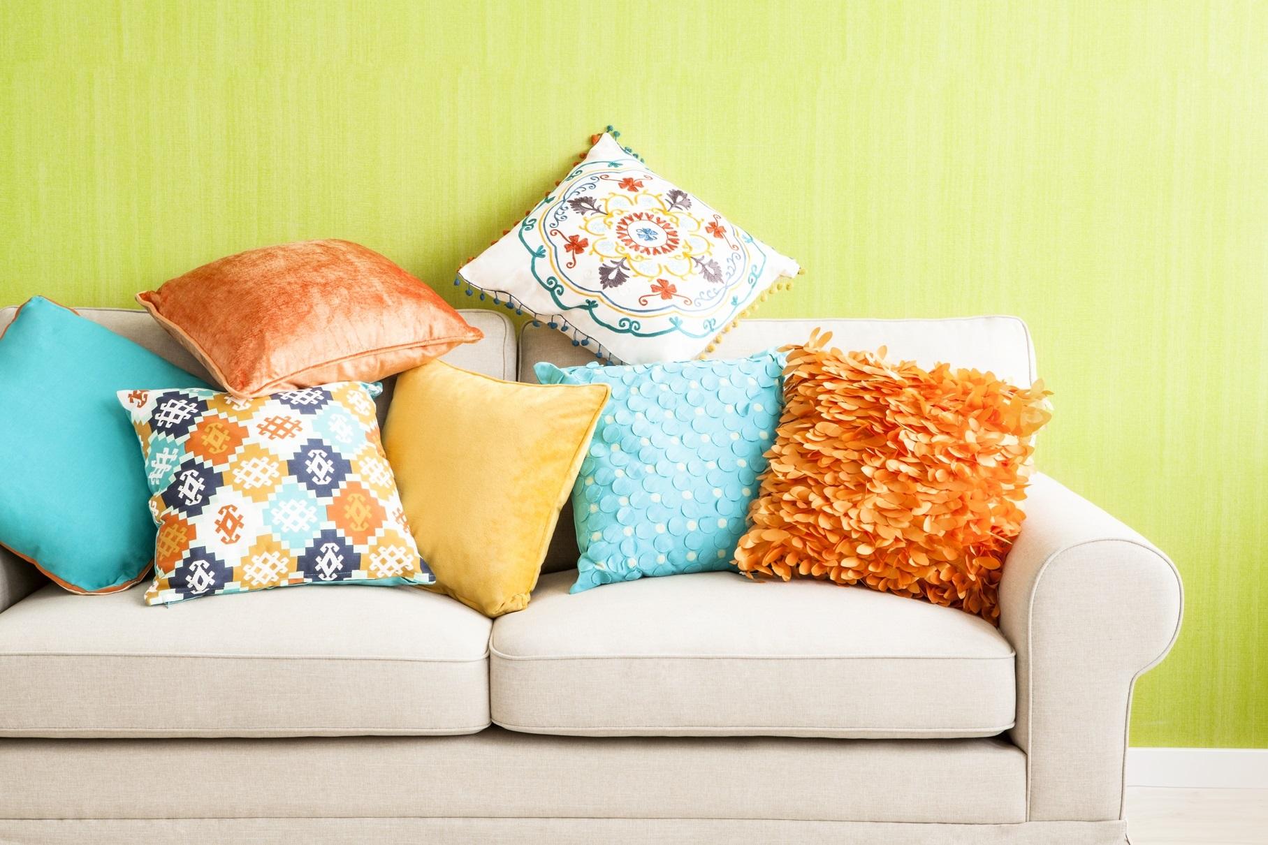 диванные подушки из поролона