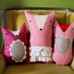подушки в форме животных