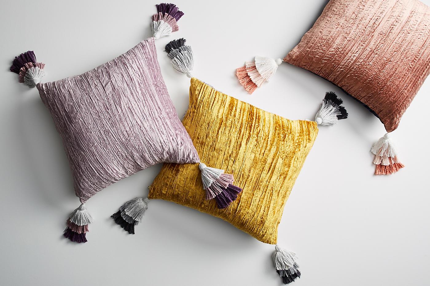 декоративные подушки из поролона