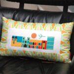подушка из поролона с картиной