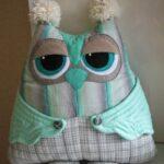 подушка сова декор фото