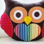 подушка сова фото дизайна