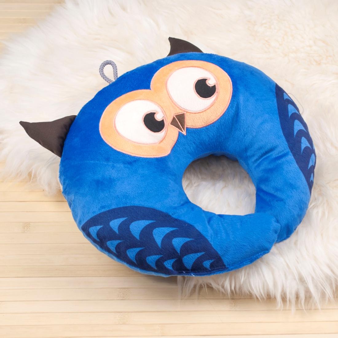 подушка сова под шею