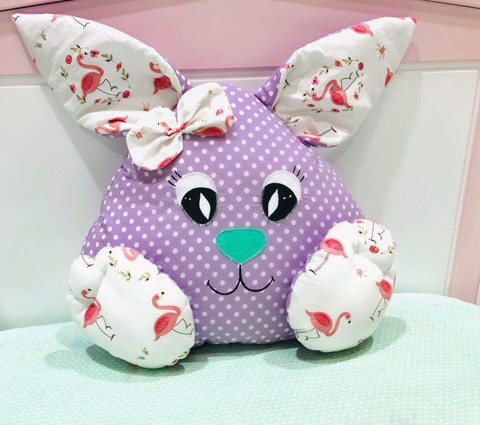 подушка заяц