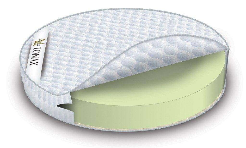 полиуретановый матрас круглый