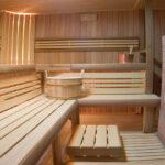 полок для бани виды декора