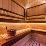 полок для бани фото декора