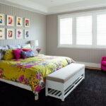 прикроватный коврик для спальни дизайн идеи