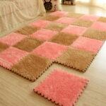 прикроватный коврик для спальни интерьер