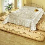прикроватный коврик для спальни идеи интерьера