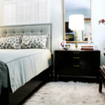прикроватный коврик для спальни варианты фото