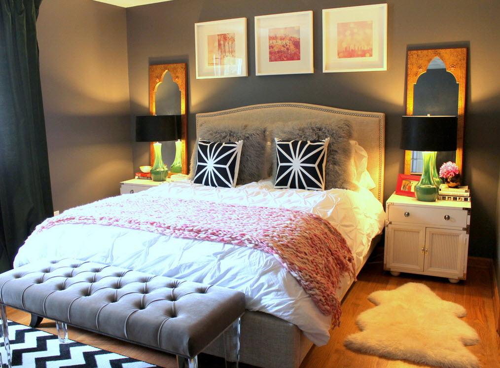 прикроватный коврик для спальни фото