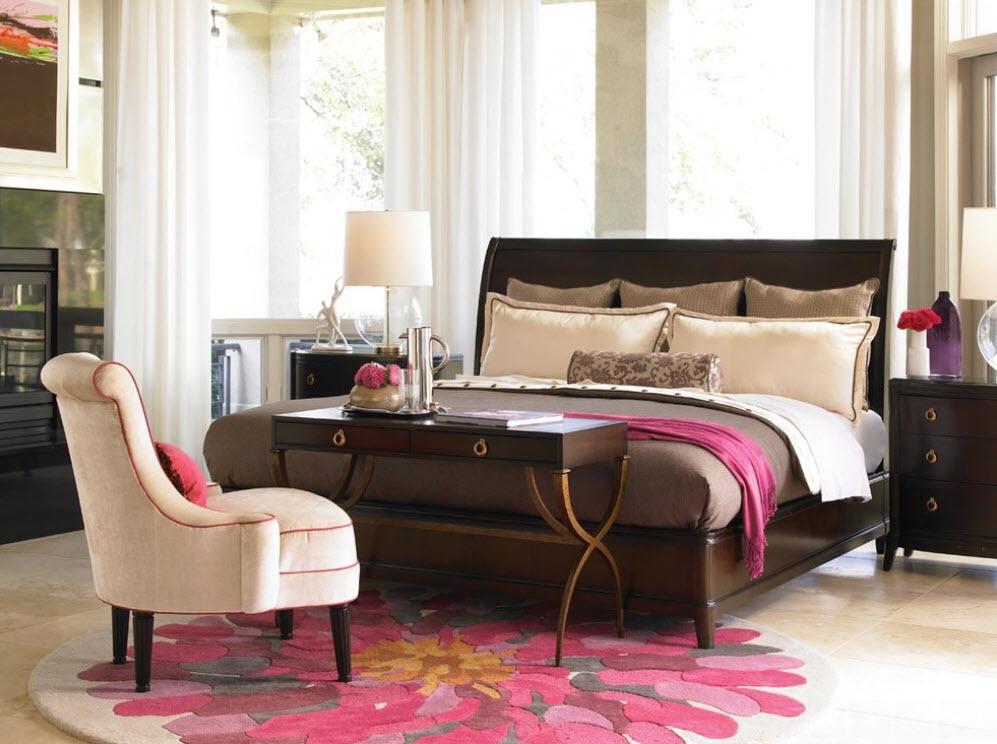 прикроватный коврик для спальни идеи дизайна