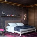 прикроватный коврик для спальни оформление фото