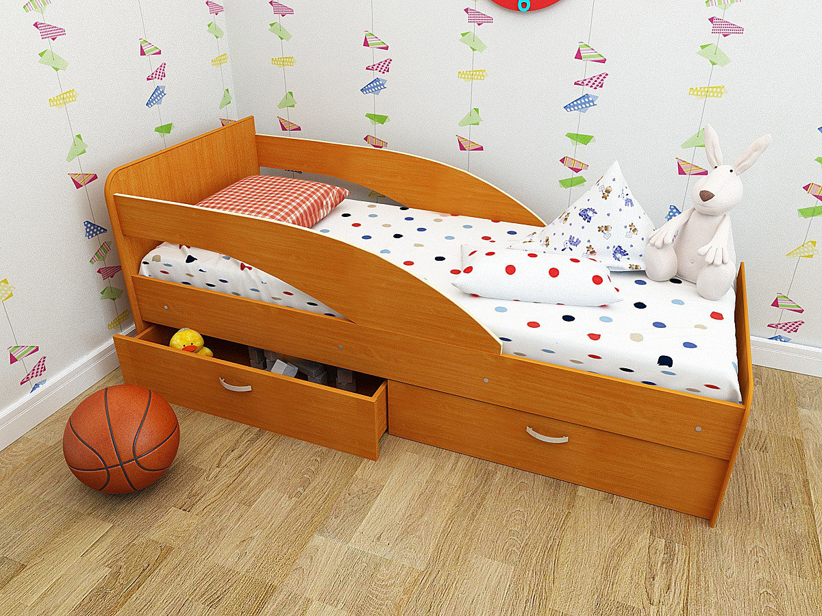 размер кровати для детей