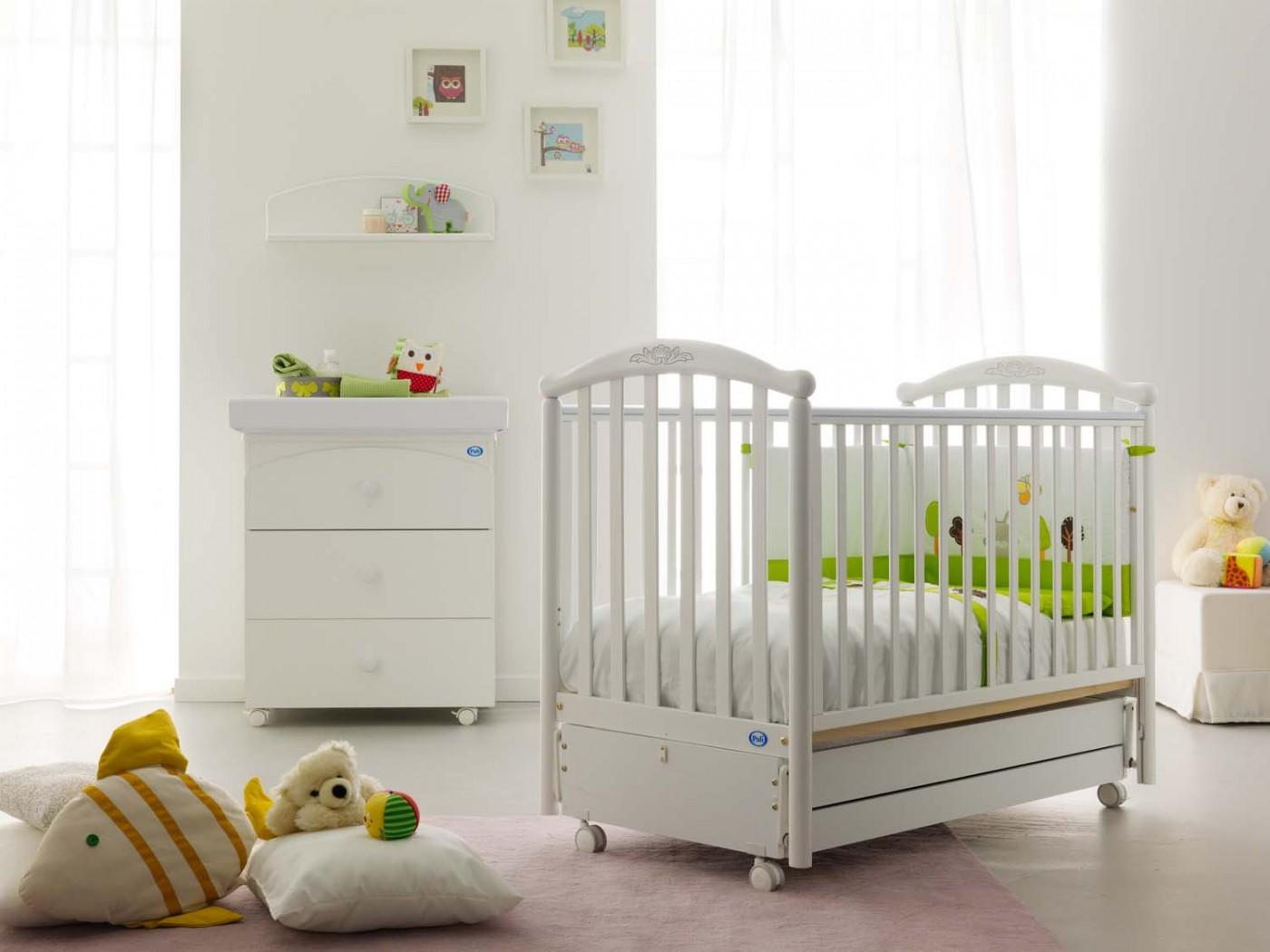 размер кровати для новорожденного