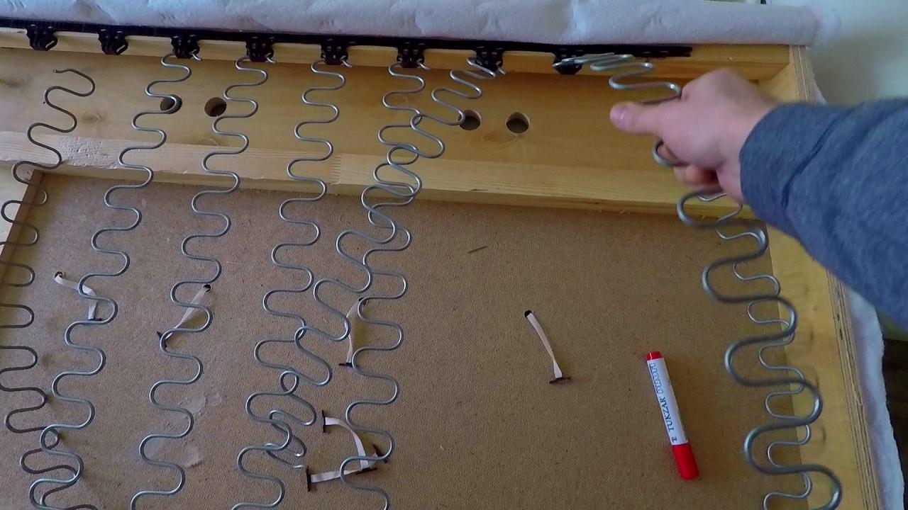 ремонт пружинного блока