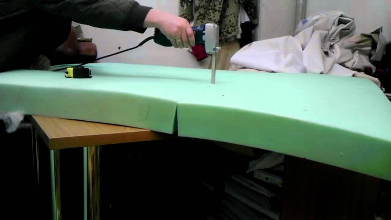 как заменить поролон на диване