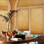 бамбуковые шторы оранжевые