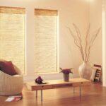 бамбуковые шторы узкие светлые
