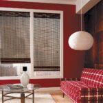 бамбуковые шторы серые прозрачные