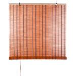бамбуковые шторы красные