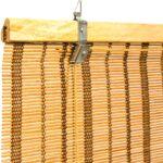 бамбуковые шторы с полосками