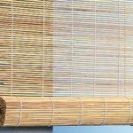 бамбуковые шторы светлые