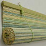 бамбуковые шторы зеленые