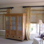 бамбуковые шторы со шкафом